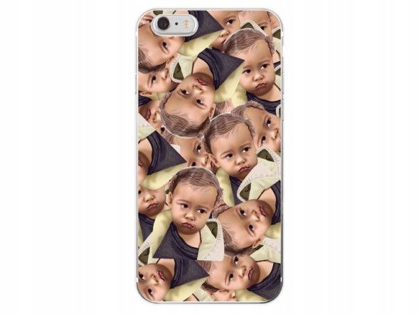 Etui Case Silikon iPhone 7 8 PLUS Kim Kardashian
