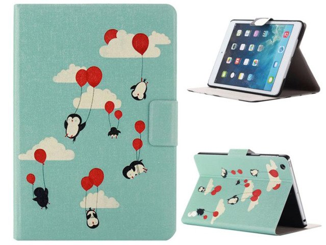 ETUI Case Obudowa FUTERAŁ iPad AIR 2 PINGWINY