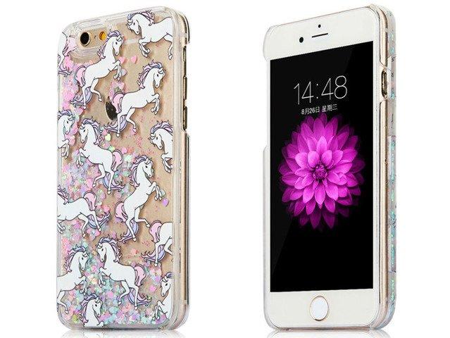 ETUI FUTERAŁ OBUDOWA iPhone 8 Jednorożce UNICORN