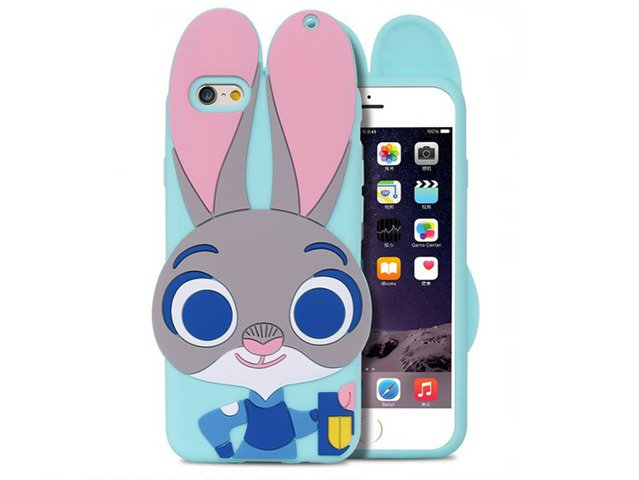 Etui Case Futerał iPhone 5s/SE Zwierzogród KRÓLIK