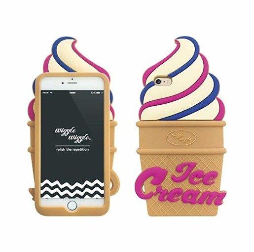 Etui Case Futerał iPhone 6/6s Wiggle Lód