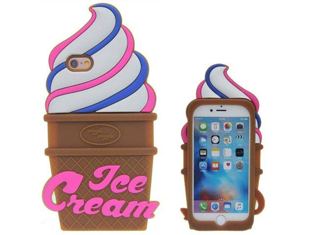 Etui Case Futerał iPhone 7 Wiggle Wiggle Lód