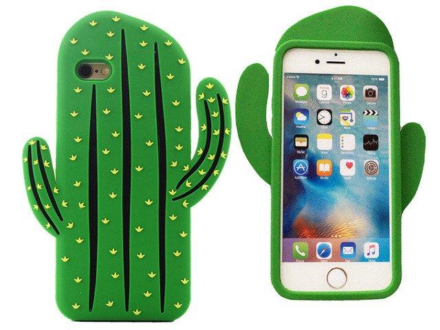 Etui Case Obudowa Silkon Futerał iPhone 7 KAKTUS