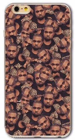 Etui Case Silikon iPhone 5 5s SE Kanye West
