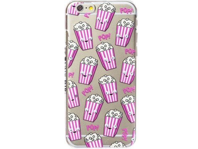 Etui Case Silikon iPhone 5/5s/SE POPCORN