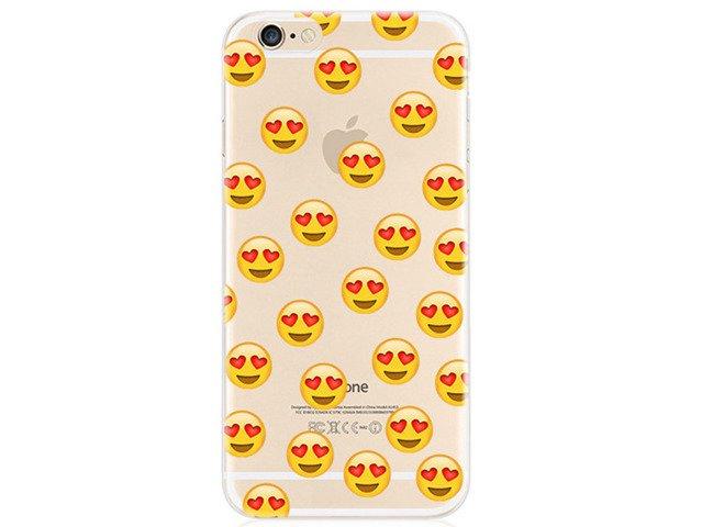 Etui Case Silikon iPhone 6/6s Emotikony FB iOS