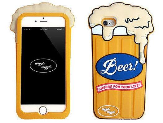 Obudowa ETUI Futerał iPhone 7 Piwo Wiggle Beer