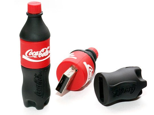 PENDRIVE BUTELKA Coca-Cola USB  16GB