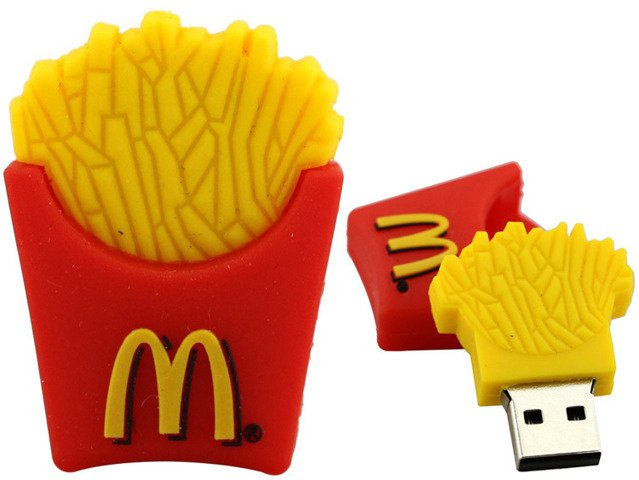 PENDRIVE FRYTKI McDonald's Pamięć Flash USB 32GB