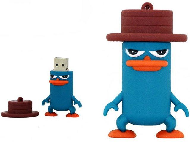 PENDRIVE PEPE AGENT P FERB FINEASZ USB FLASH 32GB