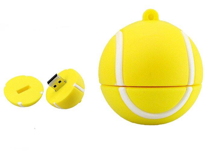 PENDRIVE PIŁKA Tenisowa USB Flash PAMIĘĆ 64GB