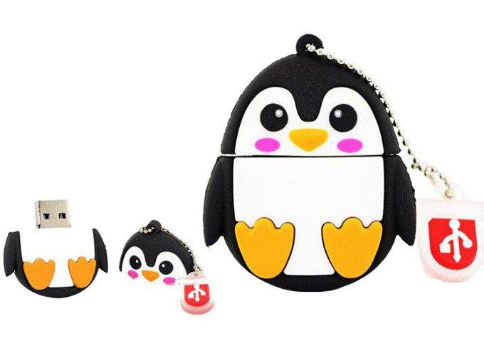 PENDRIVE PINGWIN ZWIERZĘ PAMIĘĆ FLASH USB 8GB