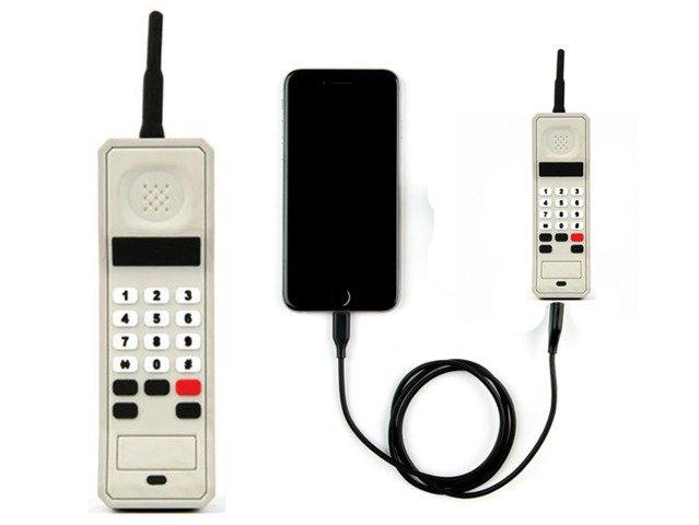 POWER BANK RETRO TELEFON Ładowarka Bateria 2600mAh