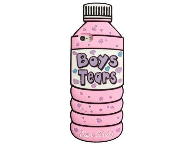 Silikon Etui Case Futerał iPhone5/5s/SE Boys Tears